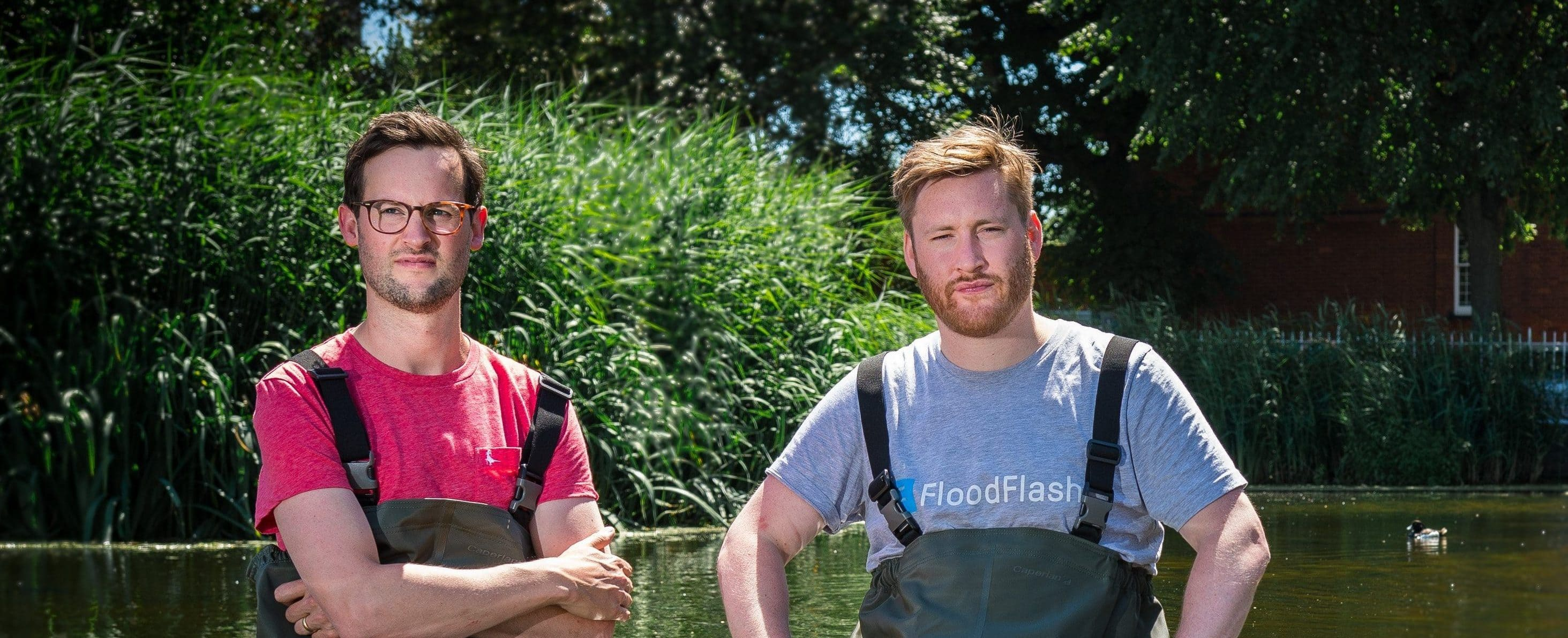 FloodFlash Founders Adam and Ian