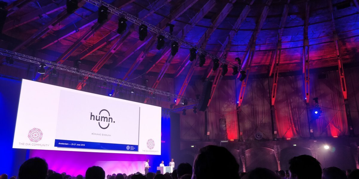 Humn live demo Digital Insurance Agenda Amsterdam 2019
