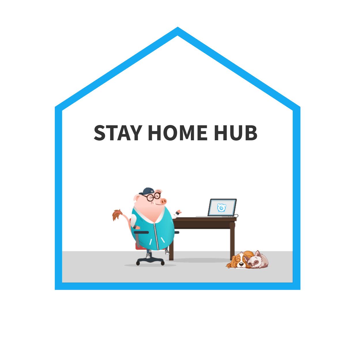 stay home hub superhog