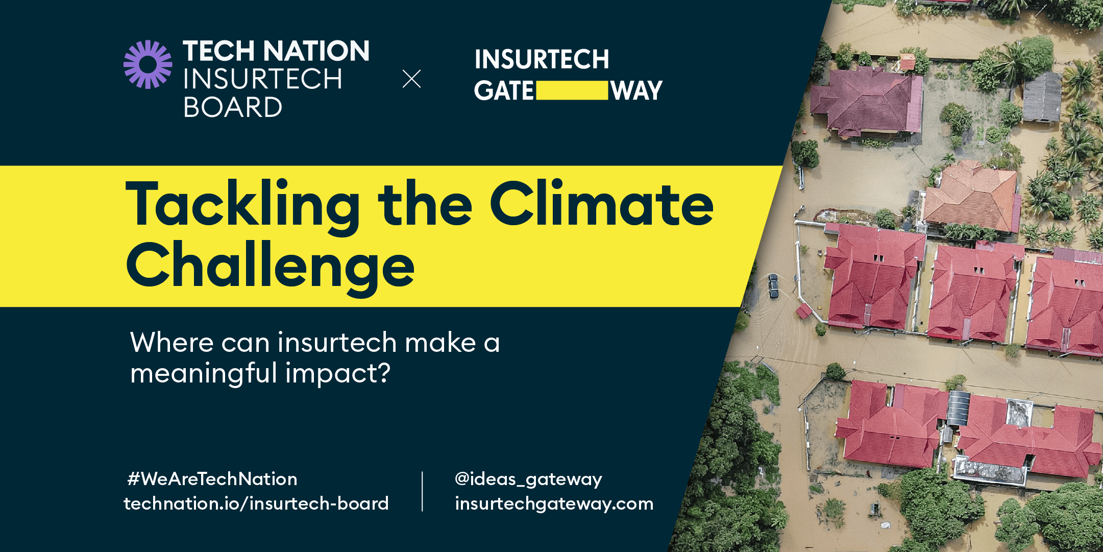 Insurtech tackling climate resilience